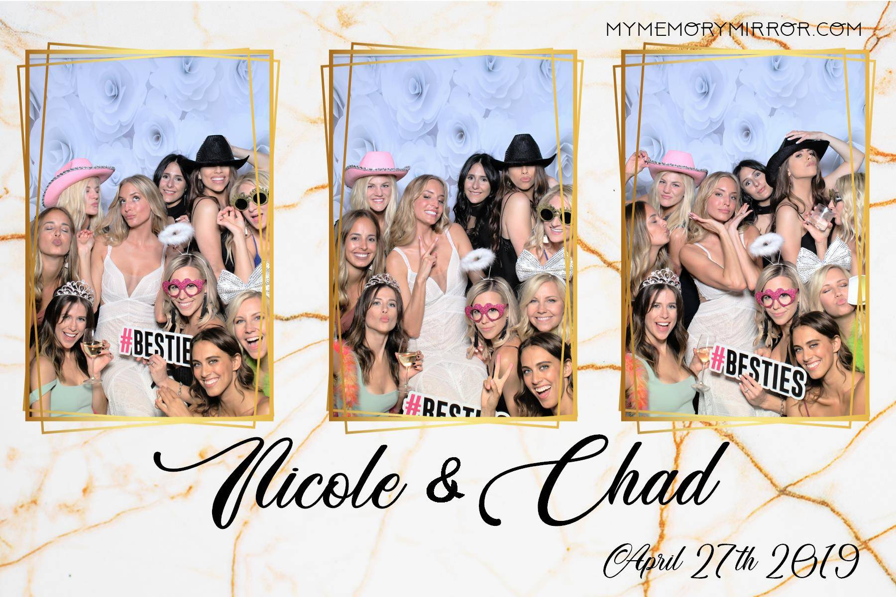 Wedding Mirror photo booth